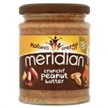 Meridian Peanut Butter Crunchy 100% Nuts Crunchy 280g